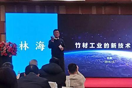 大庄地板董事长林海出席成都西部林业产业博览会并作演讲上虞